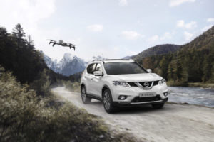 Nissan X-Trail drone