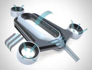 drone zonder propellers
